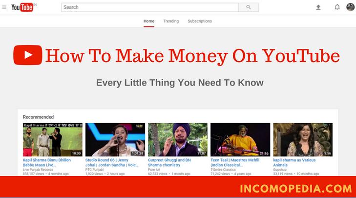make money on youtube