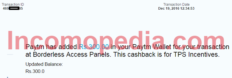 Payment proof of The Panel Station