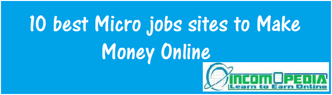 best microjobs sites to make money online