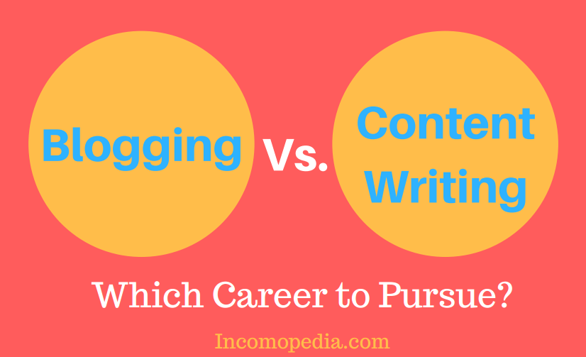 Blogging vs Content Writing