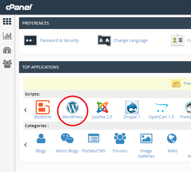 installing wordpress on inmotion hosting