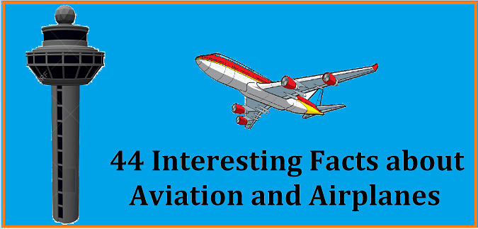interesting aviation and airplanes facts